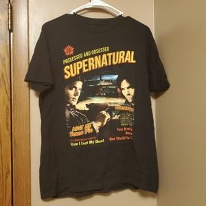 Supernatural End of the Road Tour shirt